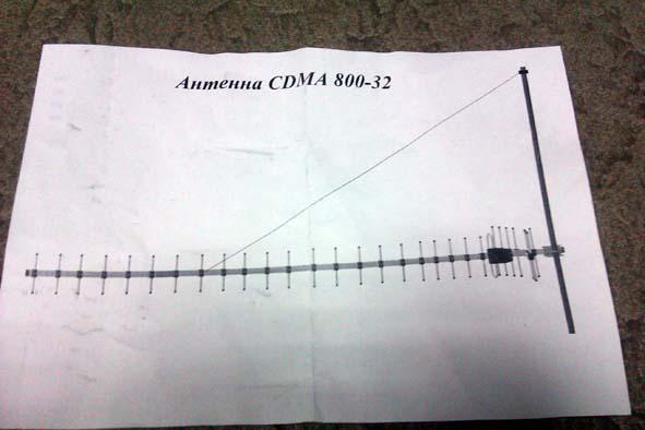 Ukraine CDMA антенна 800 мГц внешняя направленная 24 дБ. Купить с доставкой по Киеву и Украине. Отзывы к Ukraine CDMA антенна 80